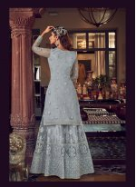 Zari Net Designer Pakistani Salwar Suit