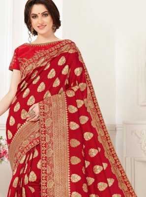 Zari Party Classic Designer Saree