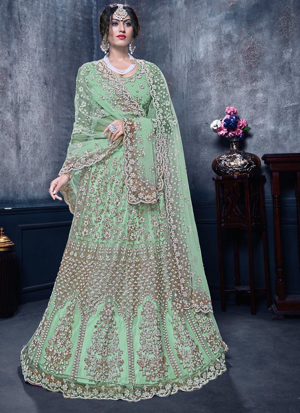 Zari Wedding Designer Lehenga Choli