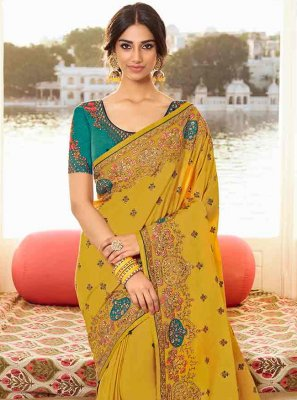 Zari Wedding Designer Saree