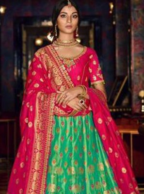 Zari Wedding Lehenga Choli