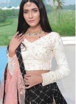 Aamna Sharif Bamber Georgette  Readymade Lehenga Choli