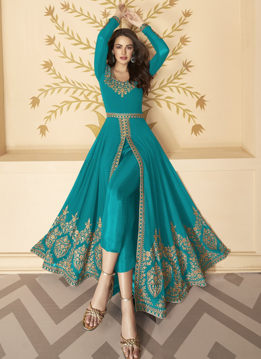 Anarkali Salwar Suit For Engagement