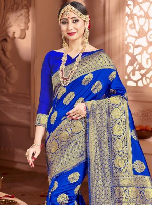 Art Banarasi Silk Designer Traditional Saree