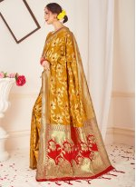 Art Banarasi Silk Festival Traditional Designer Saree