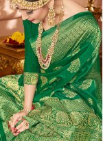 Art Banarasi Silk Traditional Designer Saree