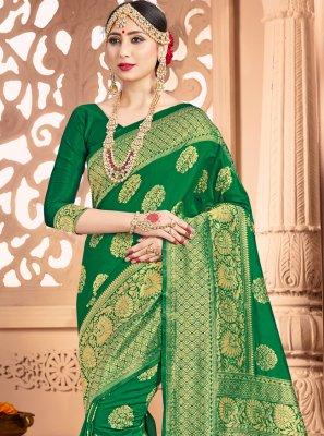 Art Banarasi Silk Traditional Designer Saree