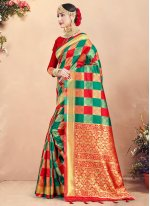 Art Banarasi Silk Traditional Saree