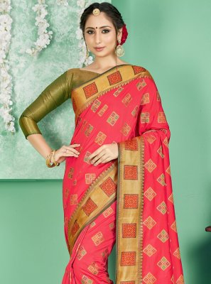 Art Banarasi Silk Woven Designer Traditional Saree