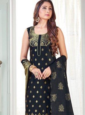 Art Banarasi Silk Woven Pant Style Suit