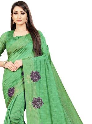 Art Silk Ceremonial Bollywood Saree