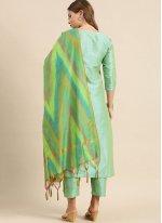 Art Silk Ceremonial Readymade Suit