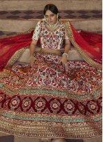 Art Silk Dori Work Multi Colour Lehenga Choli