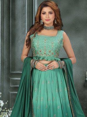 Art Silk Fancy Readymade Lehenga Choli