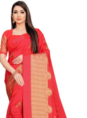 Art Silk Festival Designer Saree