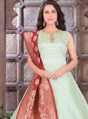 Art Silk Readymade Suit