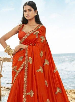 Art Silk Resham Designer Traditional Saree