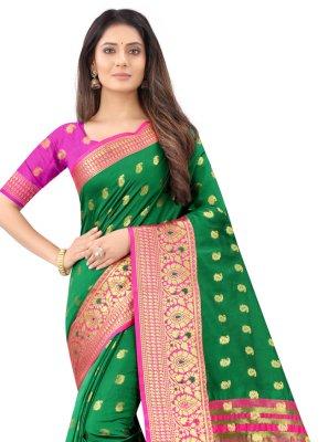 Art Silk Weaving Traditional Designer Saree