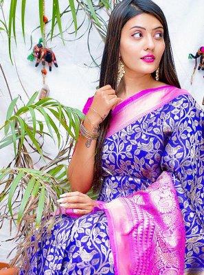 Banarasi Jacquard Party Classic Saree
