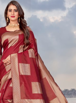 Banarasi Silk Casual Traditional Saree