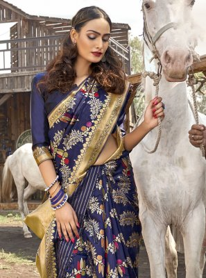 Banarasi Silk Ceremonial Designer Traditional Saree