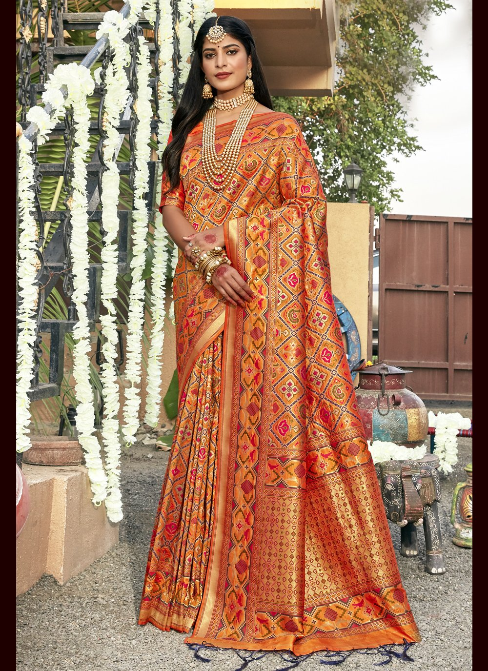 Banarasi Silk Ceremonial Trendy Saree