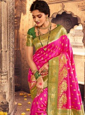 Banarasi Silk Fancy Designer Traditional Saree