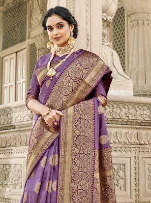 Banarasi Silk Festival Designer Saree