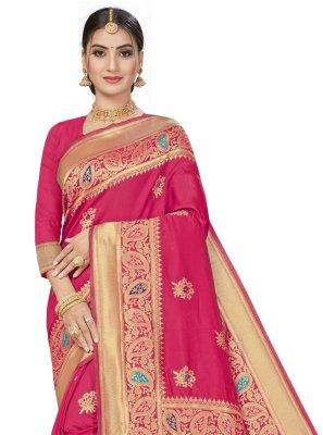 Banarasi Silk Festival Designer Traditional Saree