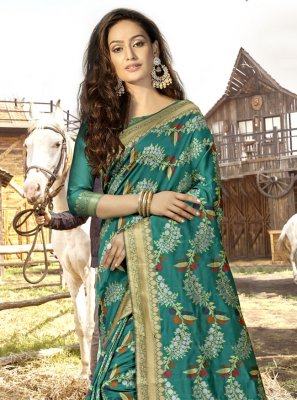 Banarasi Silk Festival Designer Traditional Saree
