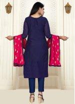 Banarasi Silk Trendy Salwar Suit