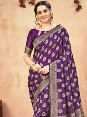 Banarasi Silk Weaving Designer Traditional Saree