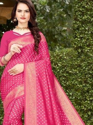 Banarasi Silk Weaving Designer Traditional Saree