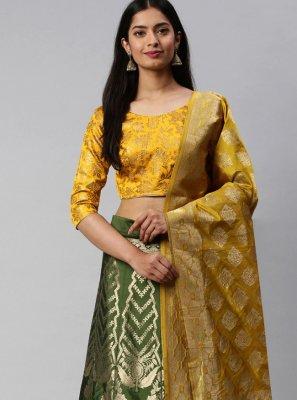 Banarasi Silk Weaving Lehenga Choli