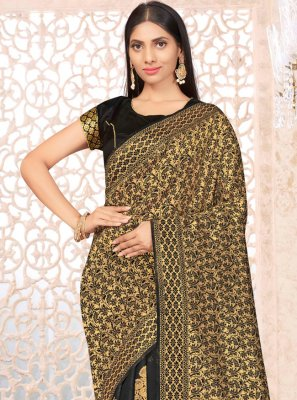 Banarasi Silk Weaving Traditional Designer Saree