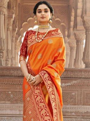 Banarasi Silk Woven Designer Saree