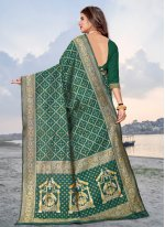 Banarasi Silk Woven Traditional Saree