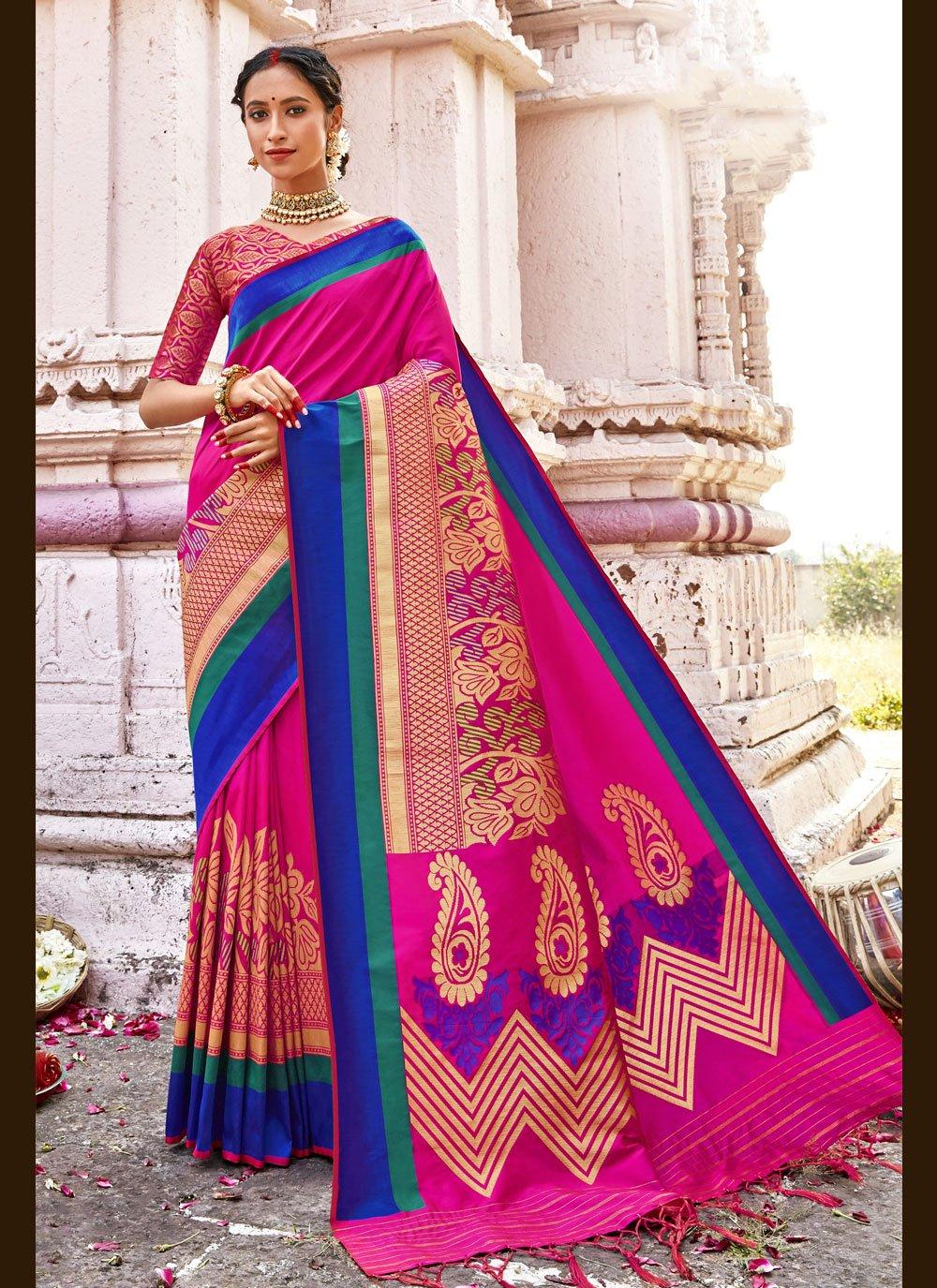 Banarasi Silk Woven Traditional Saree