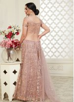 Banglori Silk Embroidered A Line Lehenga Choli