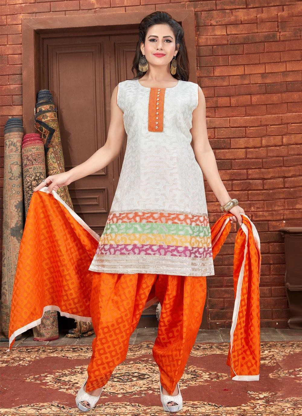 Banglori Silk Fancy Designer Patiala Suit