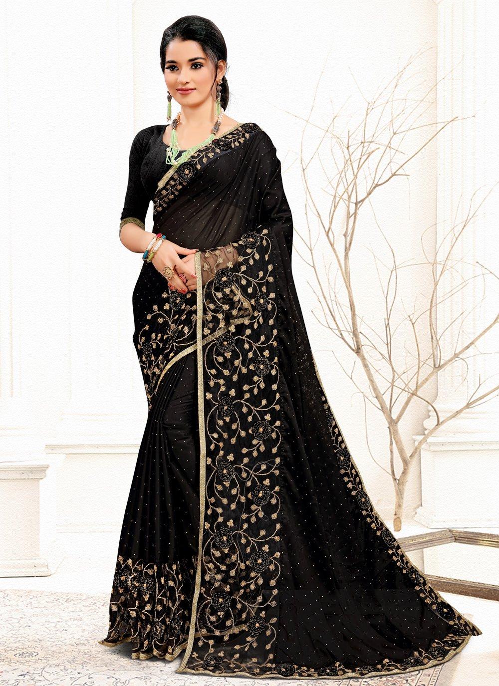 Banglori Silk Sequins Traditional Designer Saree