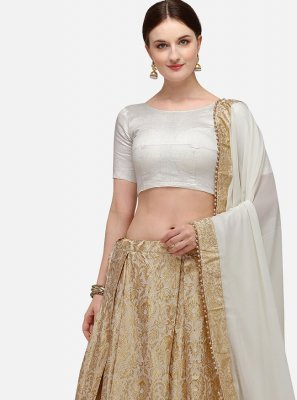 Beige Fancy Lehenga Choli