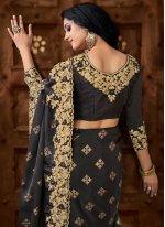 Black Classic Saree