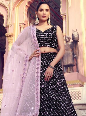 Black Color Lehenga Choli