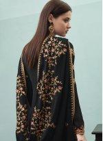 Black Festival Designer Pakistani Salwar Suit