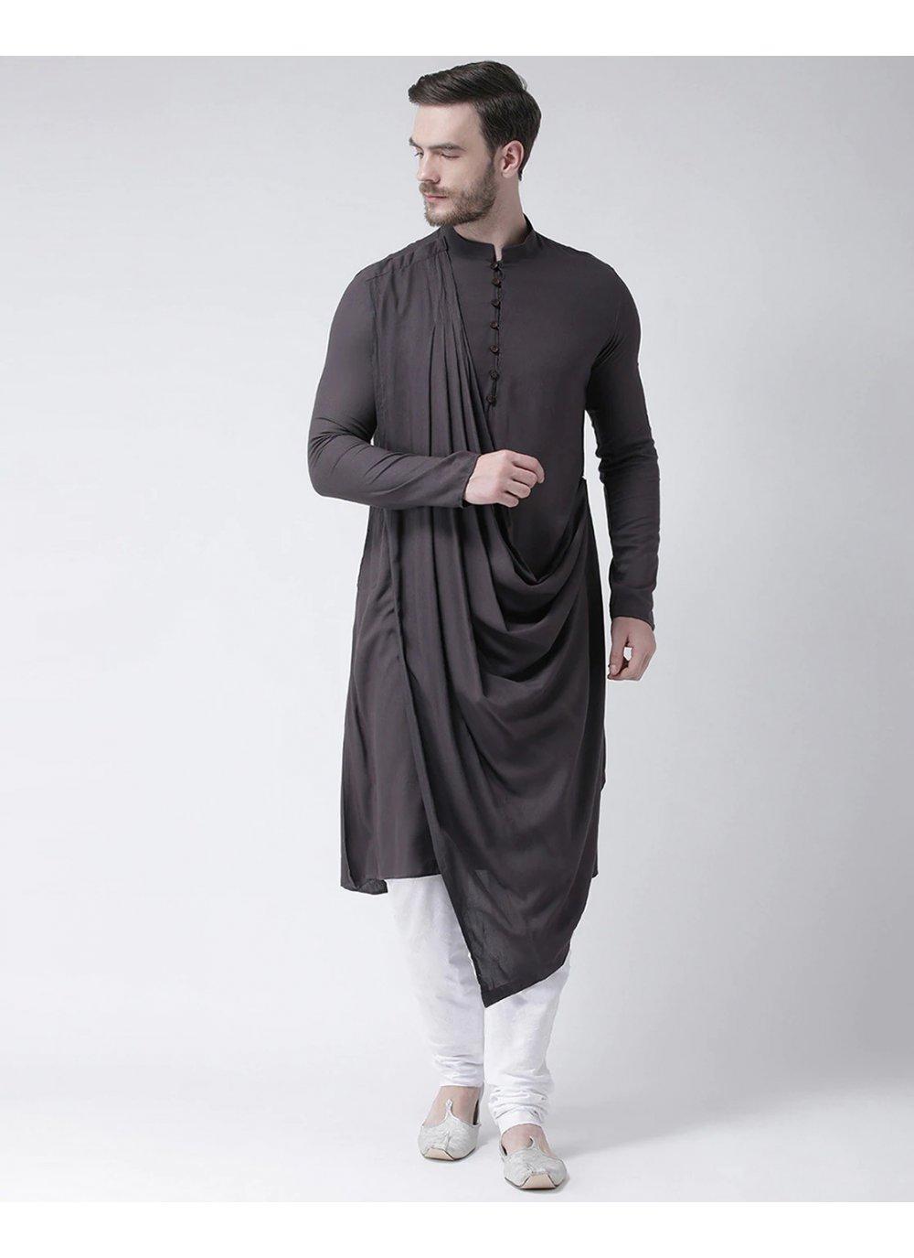 Black Festival Kurta Pyjama