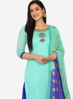Blended Cotton Party Patiala Suit