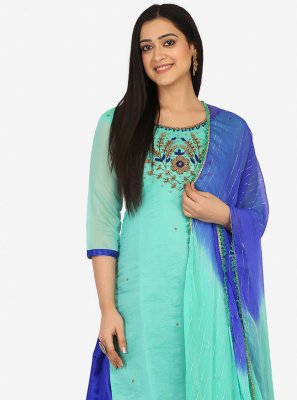 Blended Cotton Patiala Suit