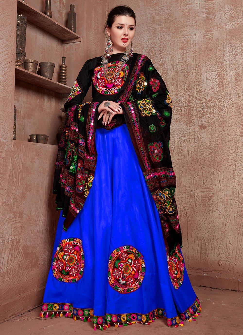 Blue Bollywood Lehenga Choli