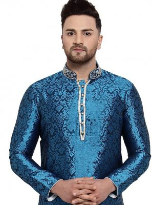 Blue Color Kurta